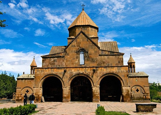 св. Эчмиадзин (Св. Гаянэ, Св. Рипсимэ) - храм Звартноц - монастырь Хор Вирап: экскурсии по Армении из Еревана