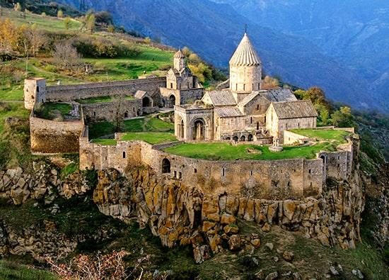 Excursion to Khor Virap monastery - Noravank monastery - Areni - Tatev monastery