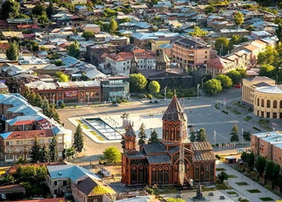 Excursion to Aruchavank - The Cathedral of Talin - Gyumri - Sev Berd – Harichavank