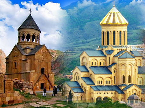 Exkursion Tour durch Armenien + Georgien-8 Tage
