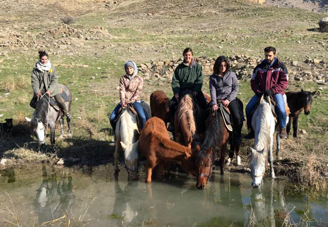 Author's tour: horse trekking in Armenia (7 days)