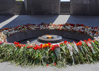 Memorial complex dedicated to the victims of the Armenian Genocide 1915