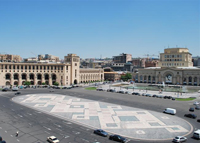 Yerevan – the Republic Square