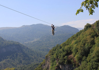 Touren in Armenien-Extreme-Zipline