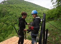 Touren in Armenien-extremer Tourismus-Zipline
