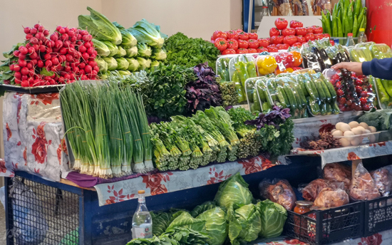 Vegetables play an important role in the national Armenian cuisine