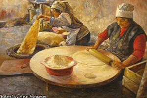 Armenian bread - lavash, has been included in the list of Intangible Cultural Heritage by UNESCO in 2014.