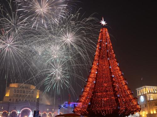 В мэрии Еревана рассказали о новогодних мероприятиях