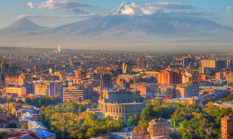 The Pink City of Yerevan: Armenia promoted on Ryanair website