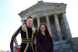Conan O'Brien visits Armenia