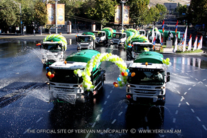 Yerevan Mayor Taron Margaryan's congratulation on Yerevan's Day