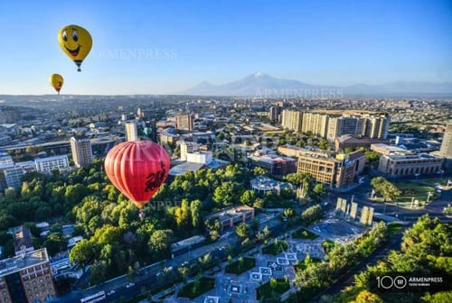 Yerevan among 21 places Ryanair offers to see in 2021