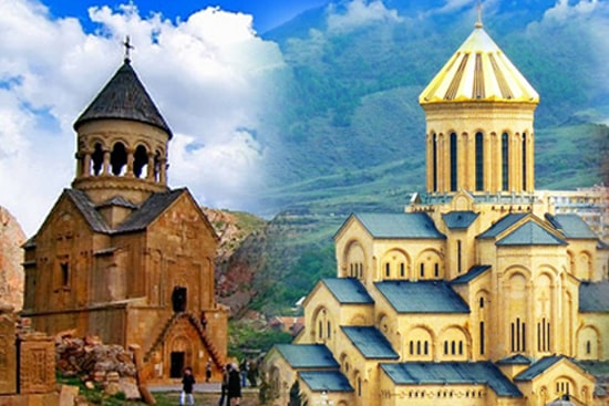 Sightseeing tour Armenia + Georgia - 8 days