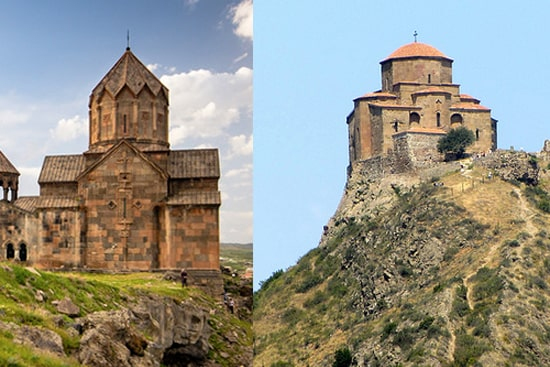Combined tours Armenia + Georgia, excursion tour Yerevan-Tbilisi