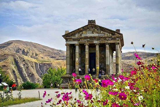 Pagan temple of Garni