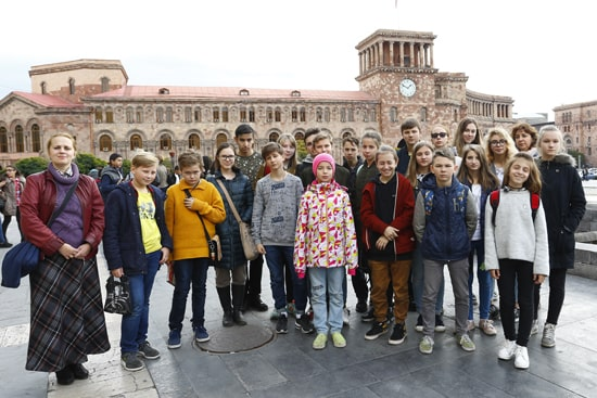 Тур для школьников по Армении (4 дня/3 ночи)