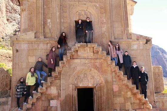 Туры в Армению на школьные каникулы, осенние и весенние поездки с классом
