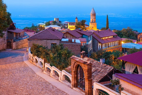 The picturesque town of Sighnaghi